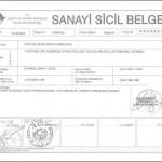 FEZA SANAYİ SİCİL BELGESİ